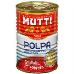 Mutti Tomato Pulp | Polpa | 3x400g | Buy Online | Italian Food | Ingredients | UK | Europe